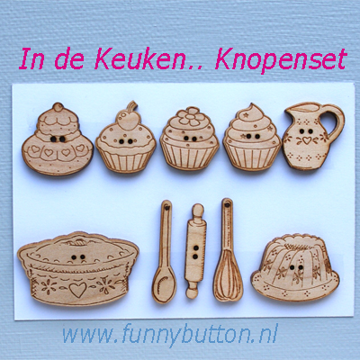 In de Keuken Knopen set