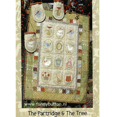 The Partridge & The Tree van Hatched and Patched