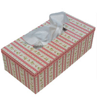Tissue Box kartonnage